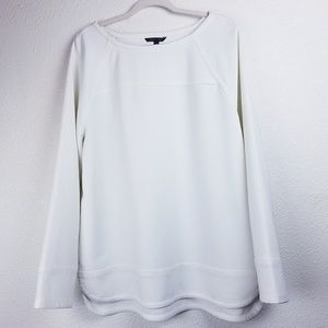 BANANA REPUBLIC Thick White Oversized Sweater